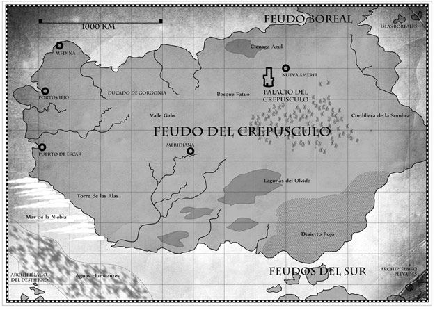 Mapa El Laberinto de Cristal   Pablo Uría Díez