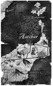 Mapas para Tigana - Guy Gavriel Kay | ilustrador Pablo Uría Díez