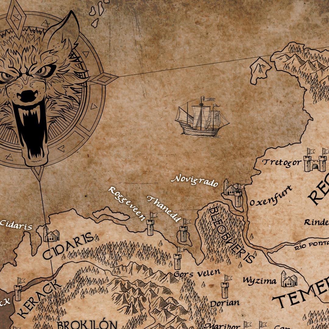 ilustracion-de-Mapa-the-witcher-pablo-uria-ilustrador