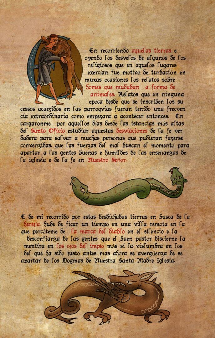 Luna, el misterio de Calenda. Libro Ilustrado | Pablo Uría Ilustrador