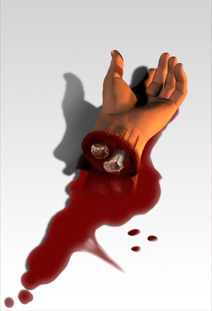Ilustración Terror fantasía | Pablo Uría Ilustrador