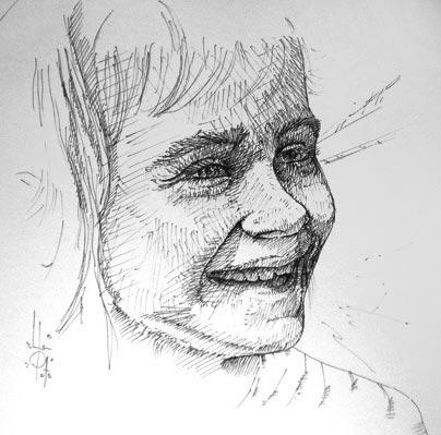 Ilustración a tinta - Pablo Uría Ilustrador