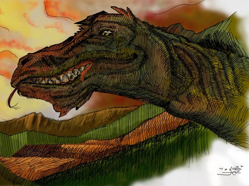 Ilustración Dragón | Pablo Uría Ilustrador