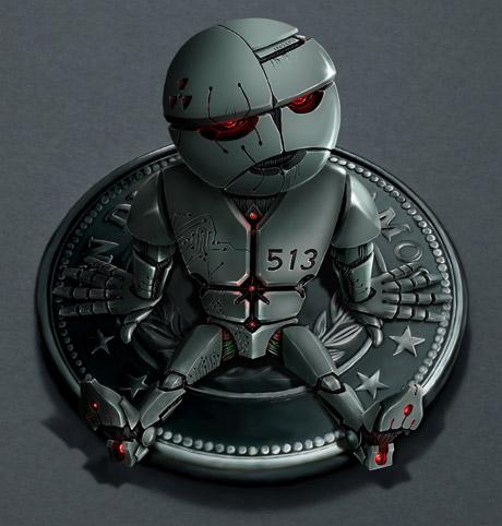 Ilustración Robot | Pablo Uría Ilustrador
