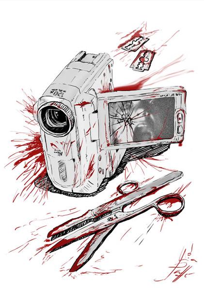 Ilustración Terror | Pablo Uría Ilustrador