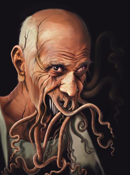 Ilustración Terror Lovecraft | Pablo Uría Ilustrador