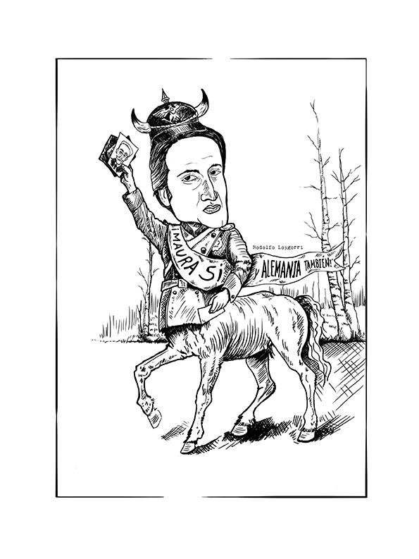 Caricatura para Seis Hermanas | Pablo Uría Ilustrador