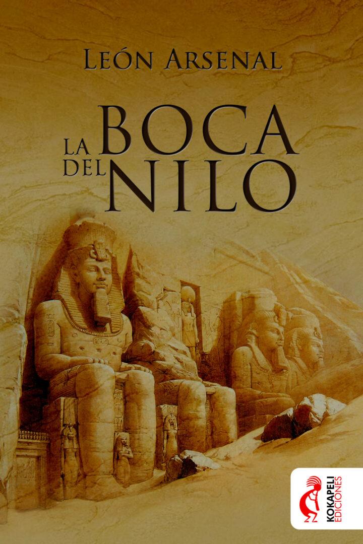 Diseño Cubierta La boca del Nilo - Kokapeli Ediciones | Pablo Uría Ilustrador