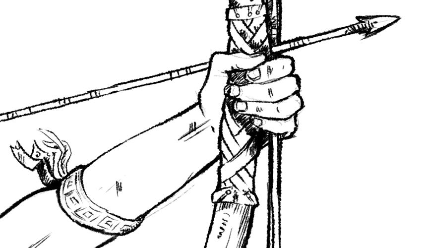 ilustración boceto detalle ampliado   Pablo Uría Ilustrador