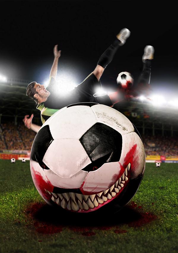 Calabazas en el Trastero - Horror en el Futbol - Pablo Uria Ilustrador