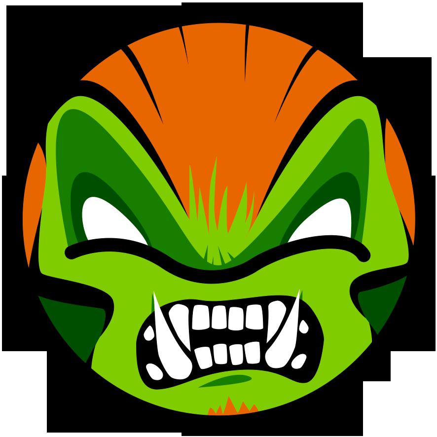 Ilustración Blanka de Street Fighter