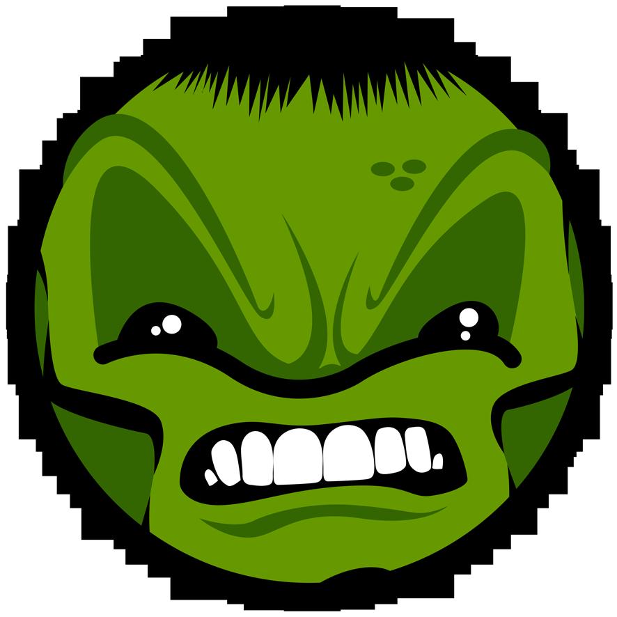 Ilustración Hulk | Pablo Uria Ilustrador