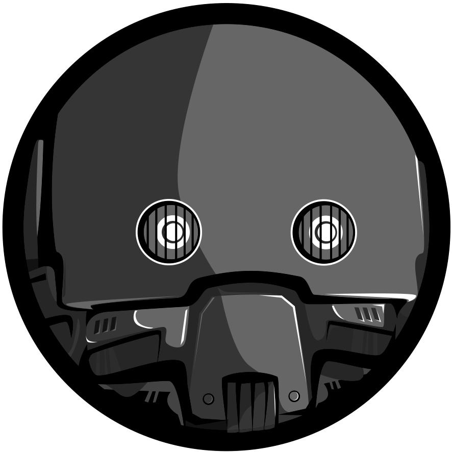K-2S0 - Rogue One - PabloUriaIlustrador