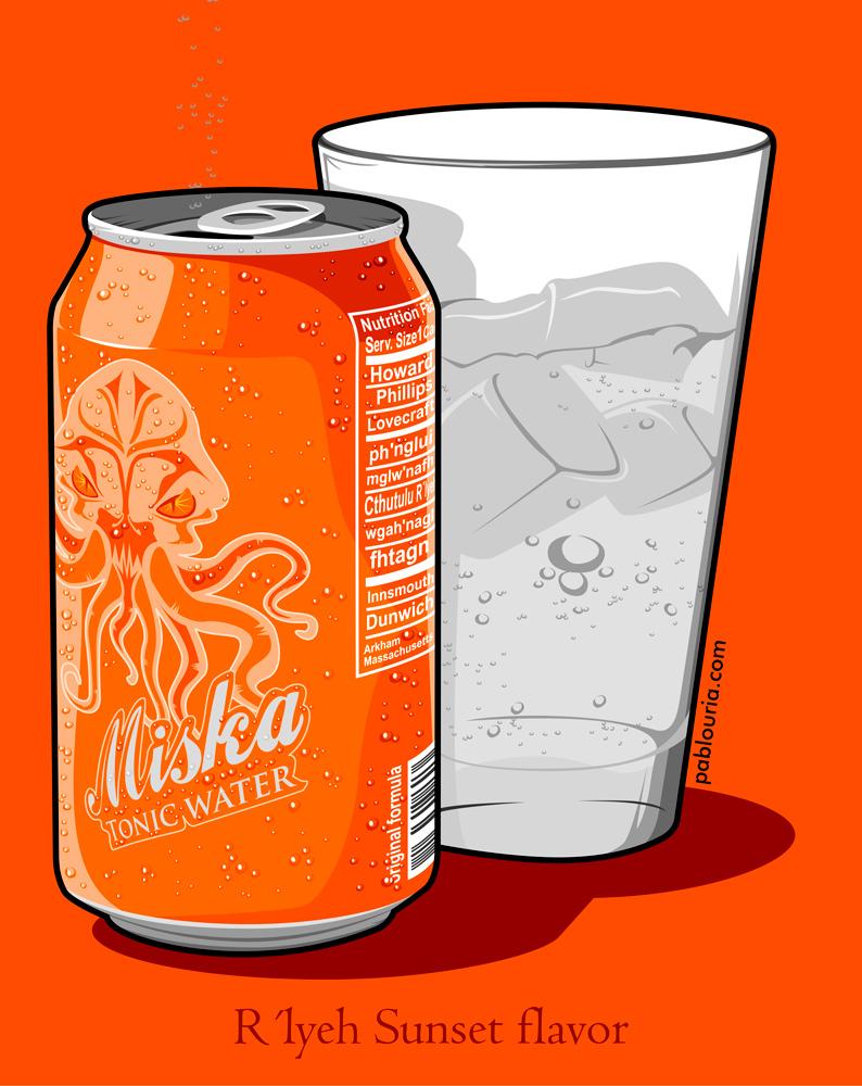 Orange MiskaTonic - Pablo Uria Ilustrador Editorial