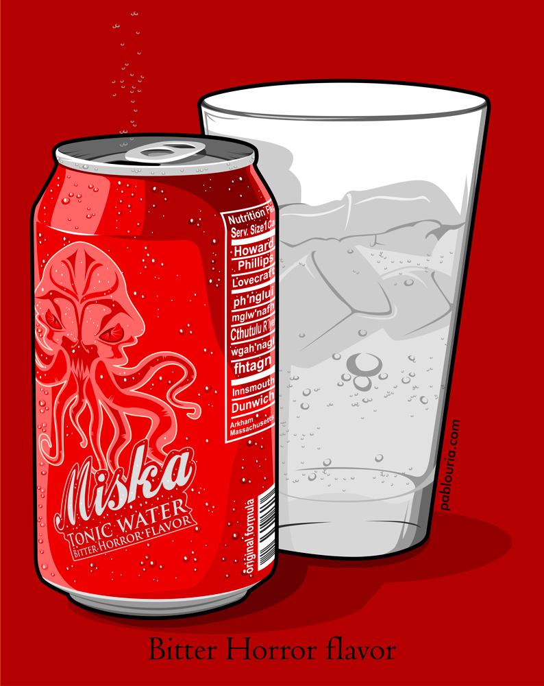 Red MiskaTonic - Pablo Uria Ilustrador Editorial