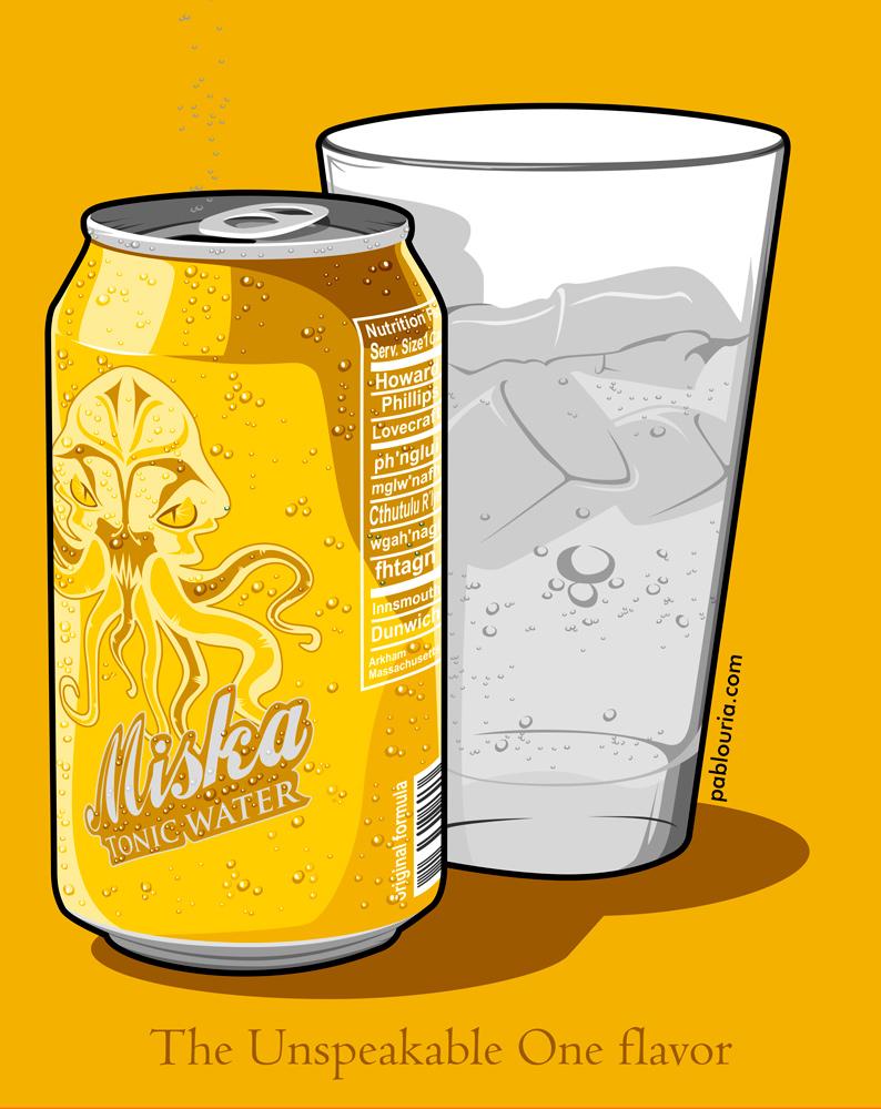 Yellow MiskaTonic- Pablo Uria Ilustrador Editorial