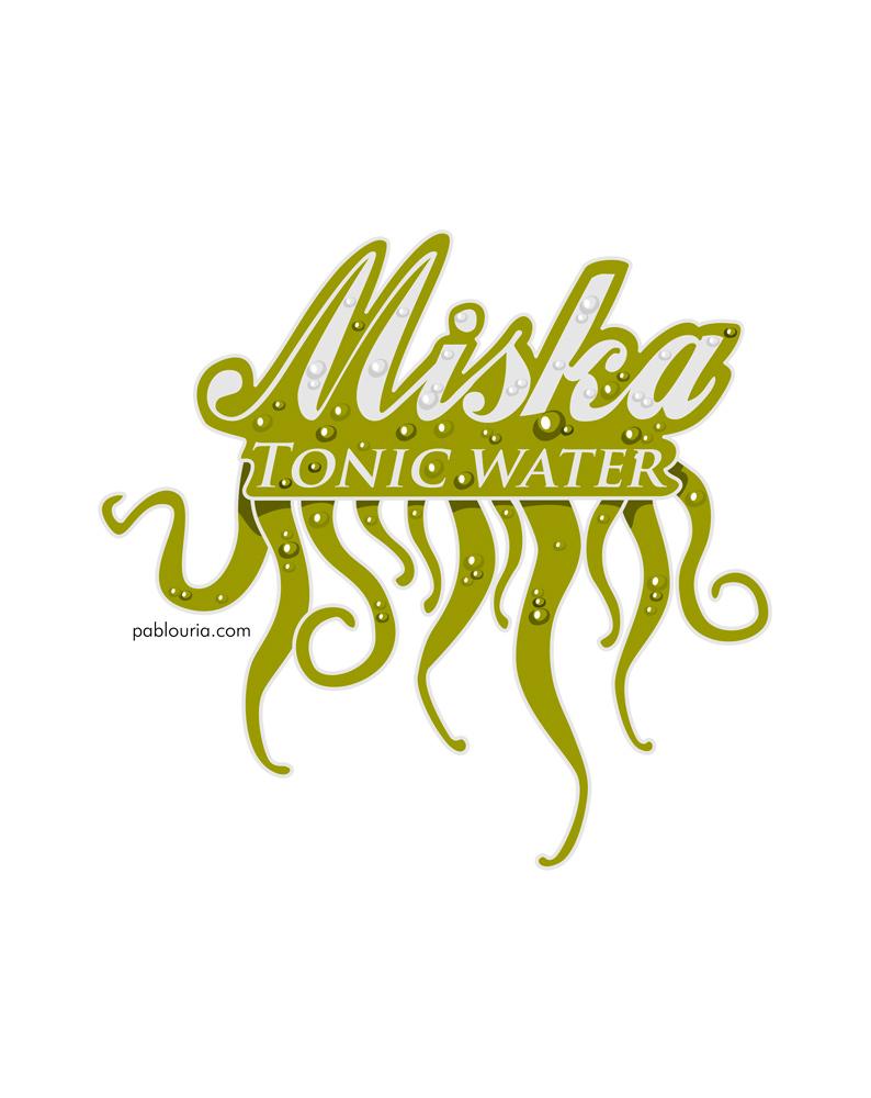 MiskaTonic Logo - Pablo Uria Ilustrador Editorial