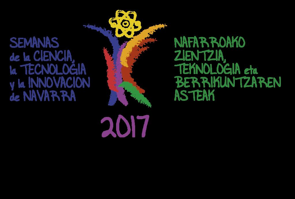 Logotipo Semana de la Ciencia de Navarra 2017
