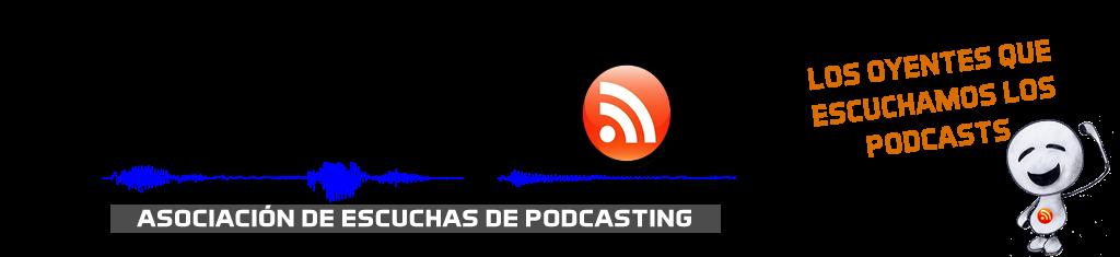 Logotipo Asespod. Asociacion de escuchas de podcasting