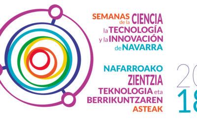 Logotipo Semanas de la Ciencia Navarra