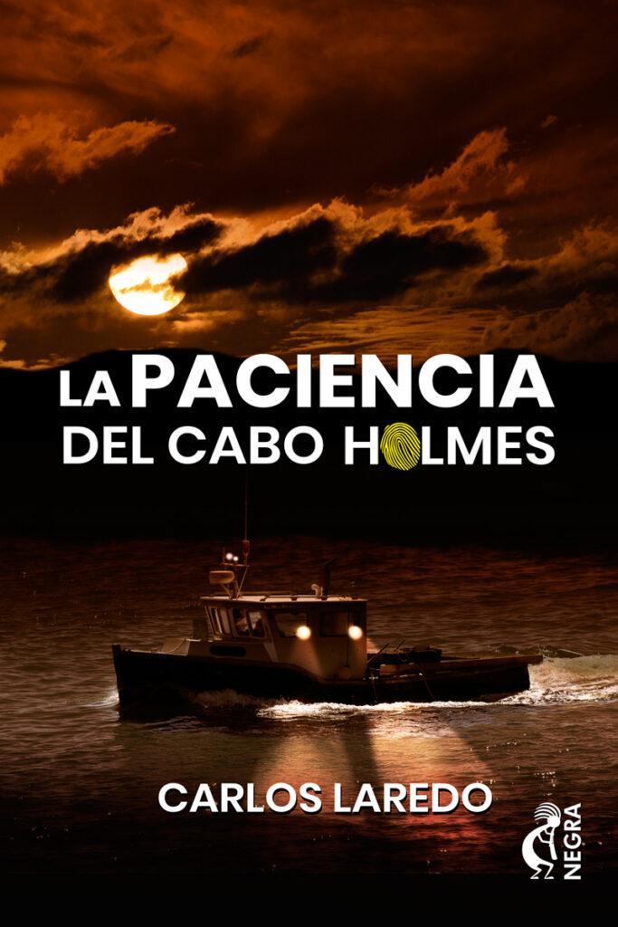 cubierta La Paciencia del Cabo Holmes - Pablo Uria Ilustrador