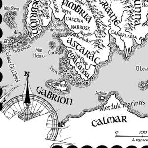 Mapa Monarquias de Dios - Pablo Uria Ilustrador