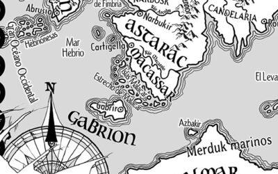 Mapa para novela: Las Monarquías de Dios