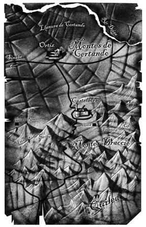 Ilustracion de mapas Tigana 1 Pablo Uría Ilustrador mapas