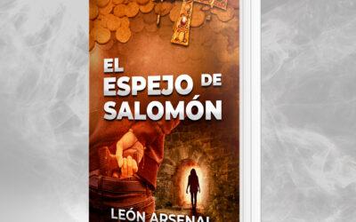 Portada de novela – El espejo de Salomón