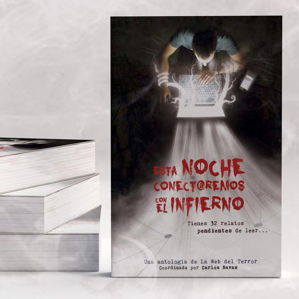 Ilustración Terror Esta Noche conectaremos con el Infierno | Pablo Uría Ilustrador