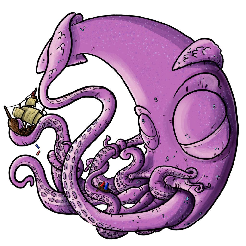 baby Kraken | Pablo Uria Ilustrador Infantil