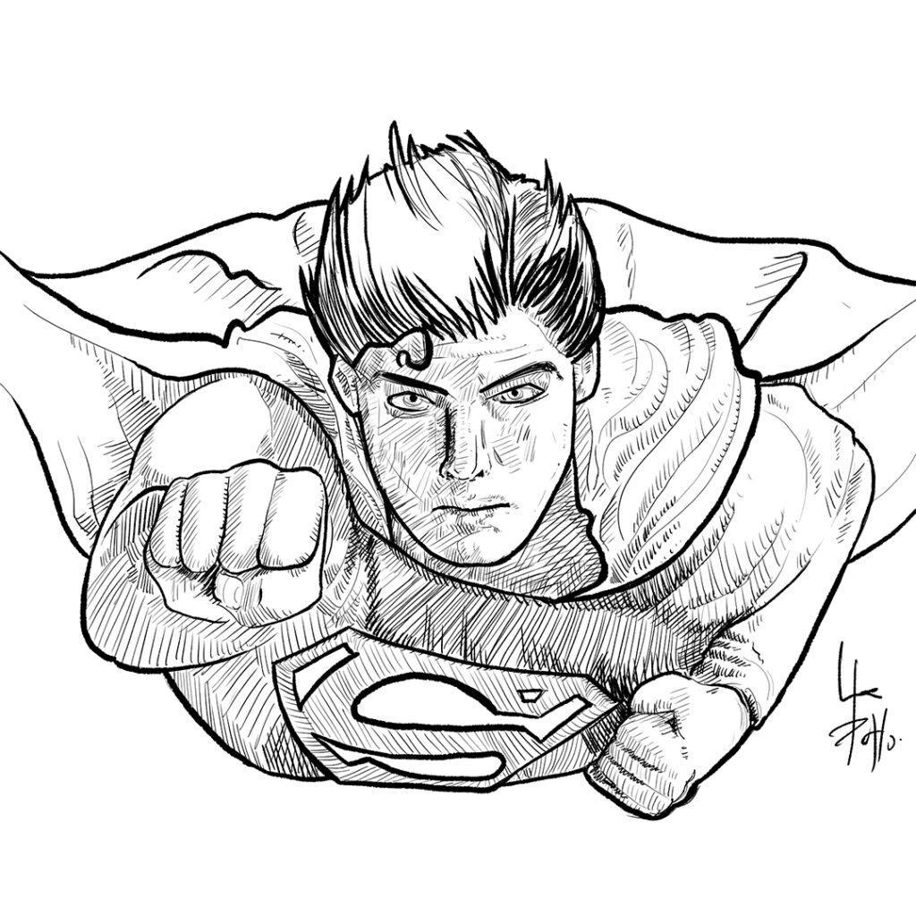 superman-pablouria-ilustrador
