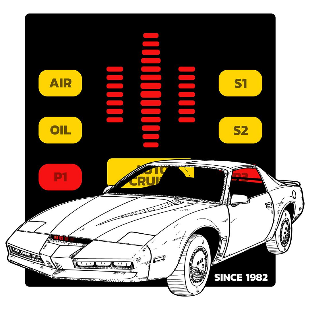 ilustracion-coche-fantastico-knight-rider