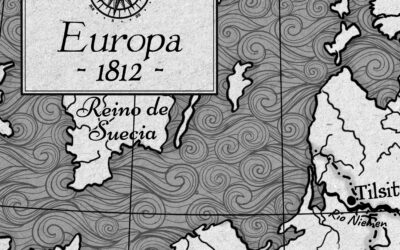 Ilustración de mapas para novela