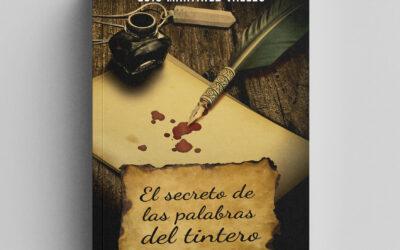 El secreto de las palabras del tintero. Ilustración de cubierta de libro