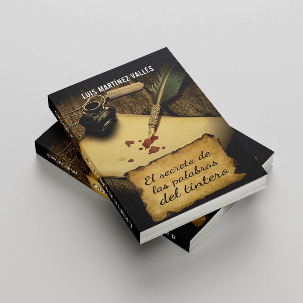Ilustración de cubierta - El secreto de las palabras del tintero - pablo uria ilustrador